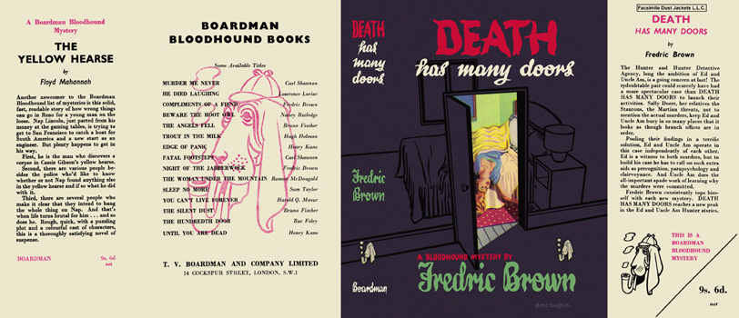 Death Has Many Doors. Fredric Brown.