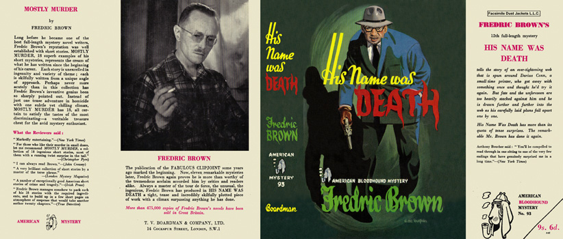 His Name Was Death. Fredric Brown.