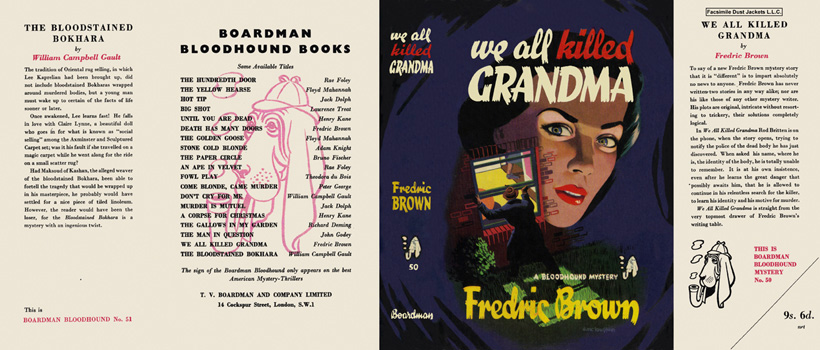 We All Killed Grandma. Fredric Brown.