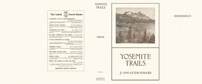 Yosemite Trails. J. Smeaton Chase.
