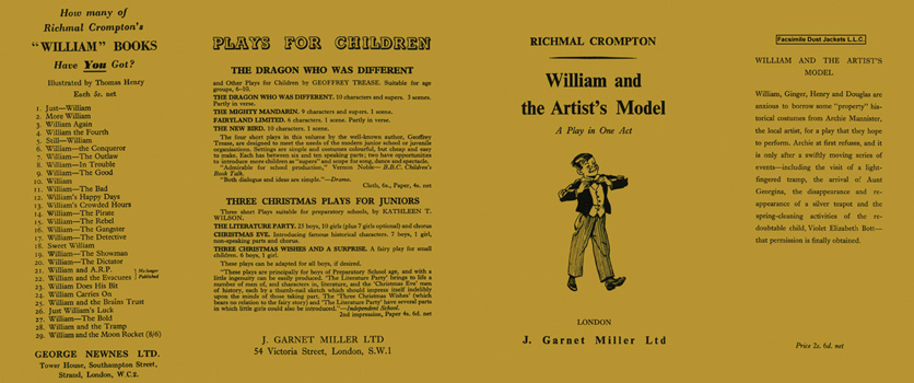 William and the Artist's Model. Richmal Crompton