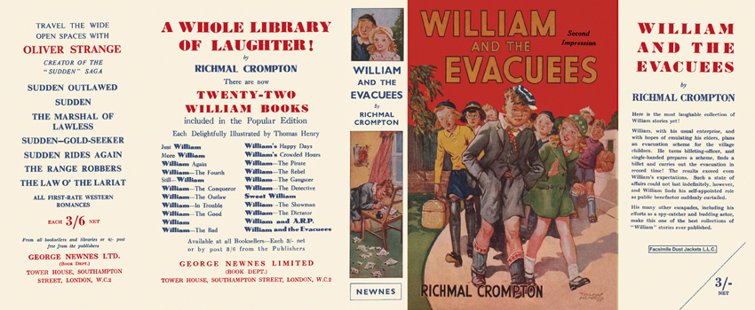 William and the Evacuees. Richmal Crompton.
