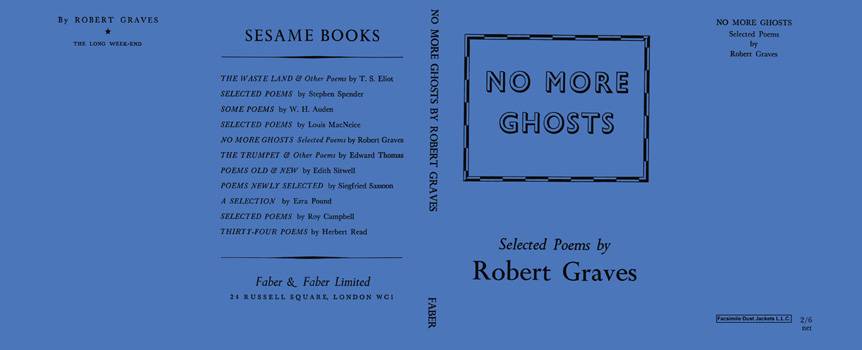 No More Ghosts. Robert Graves
