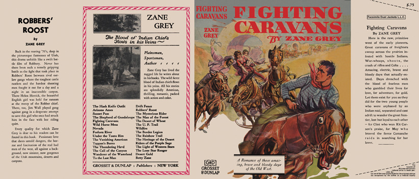 Fighting Caravans. Zane Grey