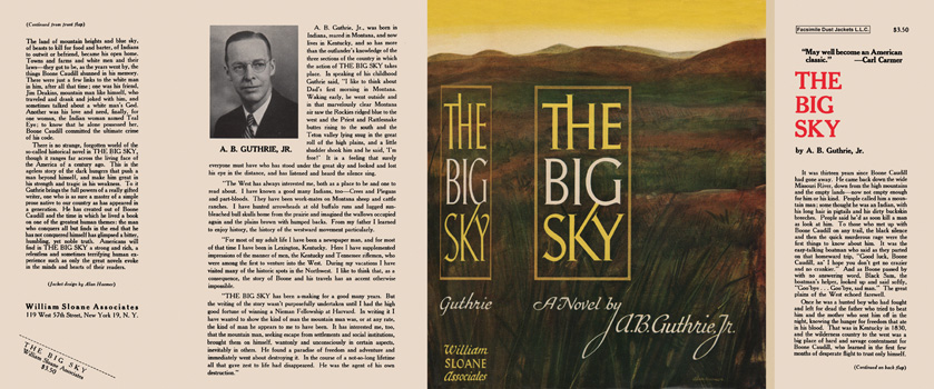 Big Sky, The. A. B. Guthrie, Jr