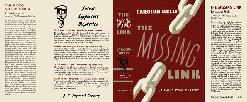 Missing Link, The. Carolyn Wells