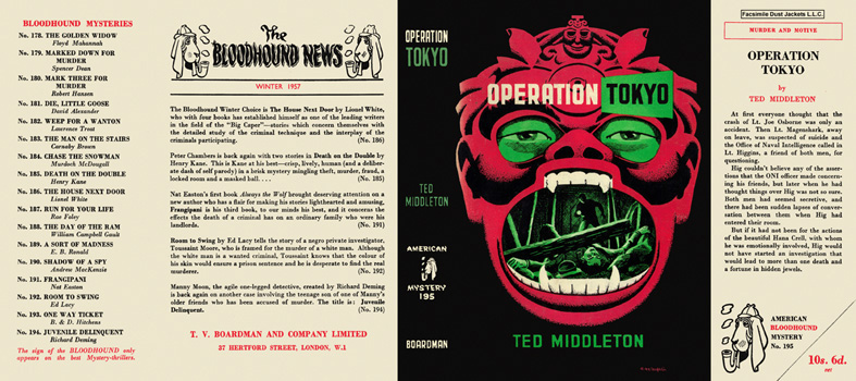 Operation Tokyo. Ted Middleton.