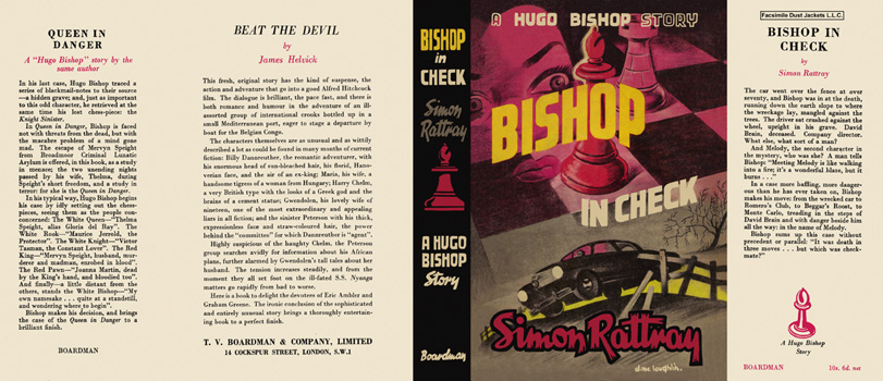 Bishop in Check. Simon Rattray.