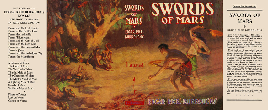 Swords of Mars. Edgar Rice Burroughs