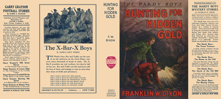 Hardy Boys #05: Hunting for Hidden Gold. Franklin W. Dixon