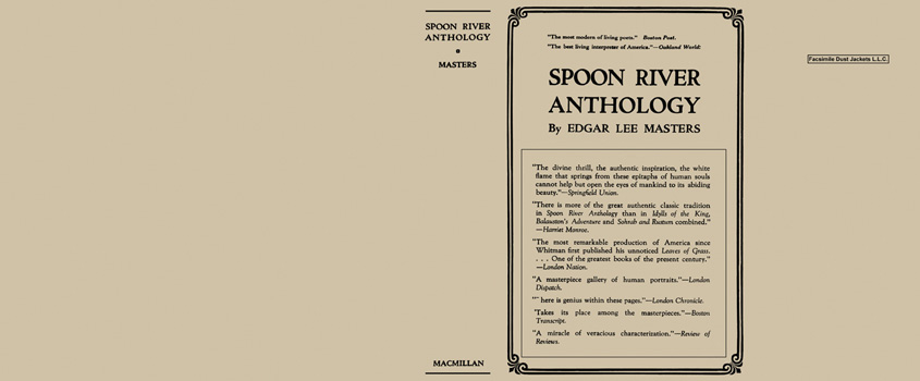 Spoon River Anthology. Edgar Lee Masters.
