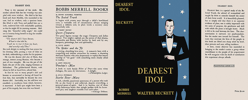 Dearest Idol. Walter Beckett
