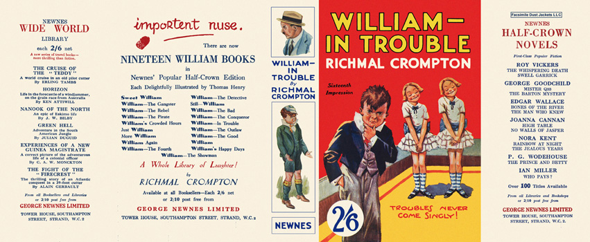 William in Trouble. Richmal Crompton.
