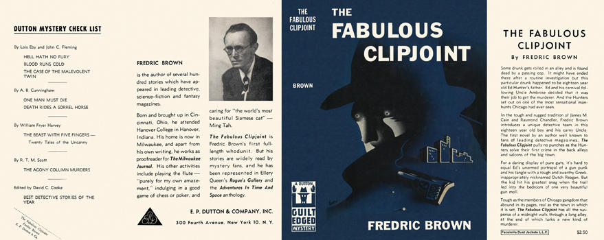 Fabulous Clipjoint, The. Fredric Brown.