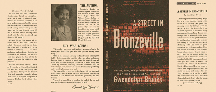 Street in Bronzeville, A. Gwendolyn Brooks