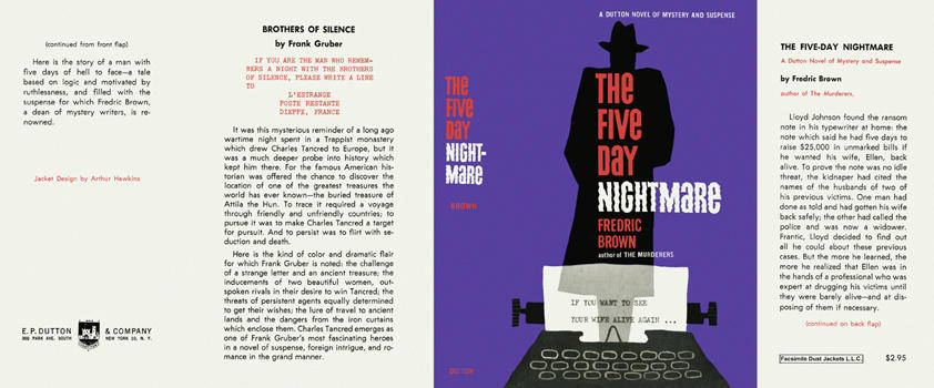 Five Day Nightmare, The. Fredric Brown.