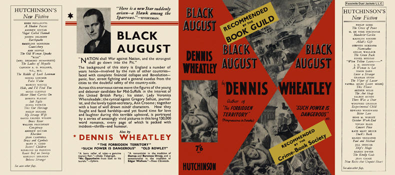 Black August. Dennis Wheatley.
