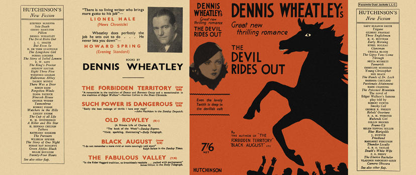 Devil Rides Out, The. Dennis Wheatley