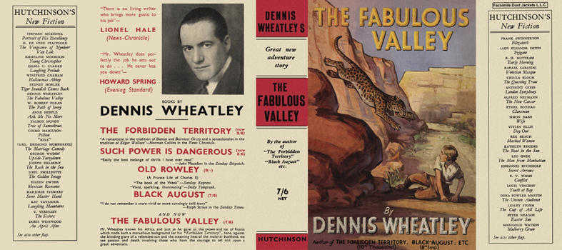 Fabulous Valley, The. Dennis Wheatley