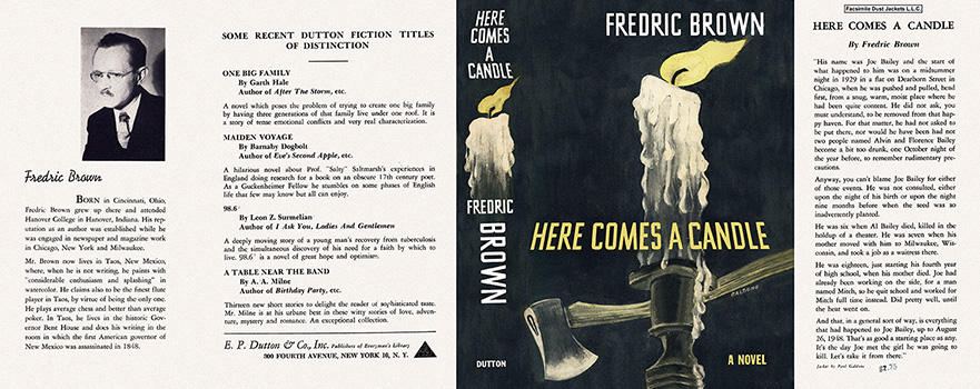 Here Comes a Candle. Fredric Brown.