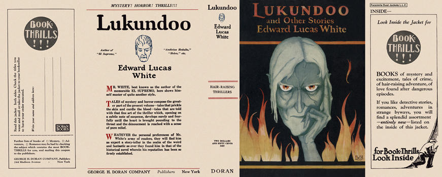 Lukundoo and Other Stories. Edward Lucas White.