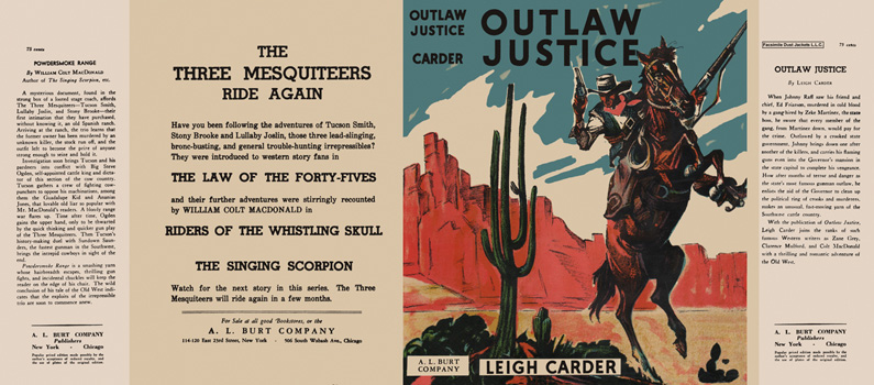 Outlaw Justice. Leigh Carder.