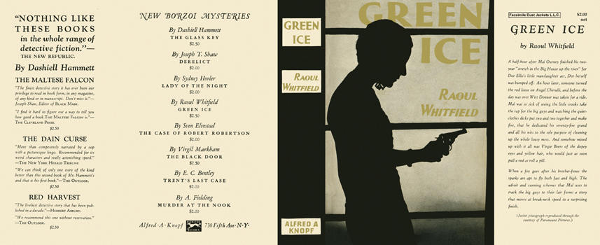 Green Ice. Raoul Whitfield.