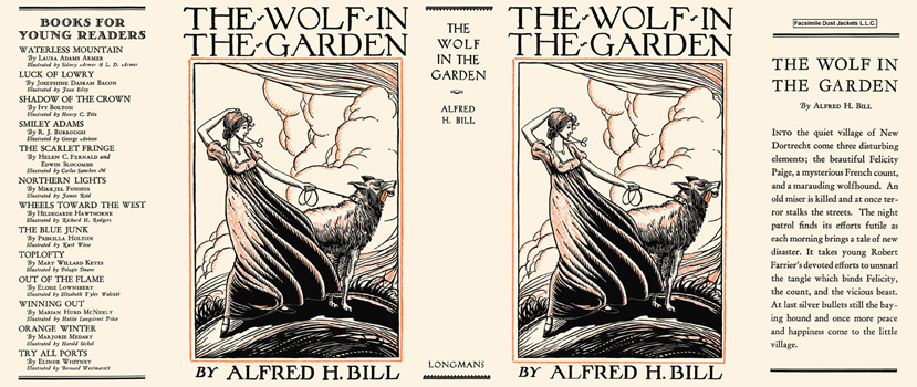 Wolf in the Garden, The. Alfred H. Bill