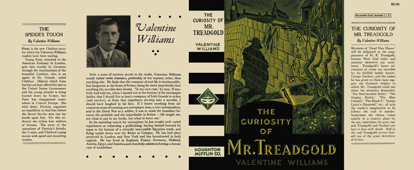 Curiosity of Mr. Treadgold, The. Valentine Williams