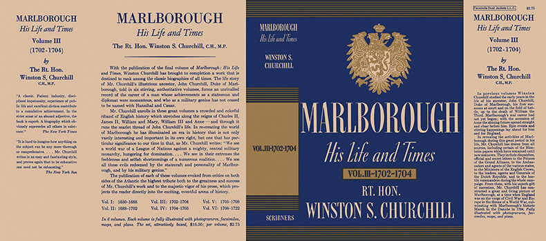 Marlborough, His Life and Times Volume Ill - 1702 - 1704. Winston S. Churchill.