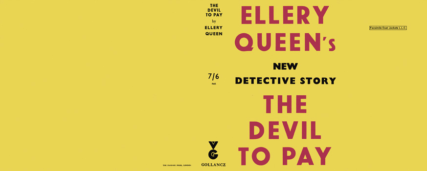 Devil to Pay, The. Ellery Queen