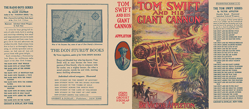 Tom Swift #16: Tom Swift and His Giant Cannon. Victor Appleton.