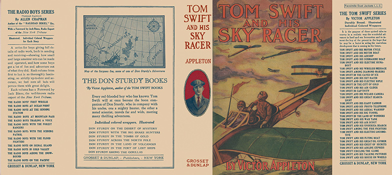 Tom Swift #09: Tom Swift and His Sky Racer. Victor Appleton.