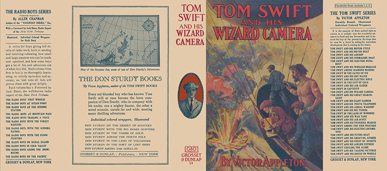 Tom Swift #14: Tom Swift and His Wizard Camera. Victor Appleton.