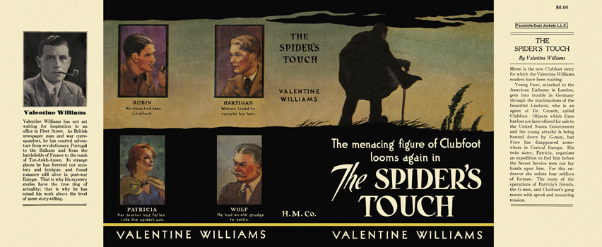 Spider's Touch, The. Valentine Williams