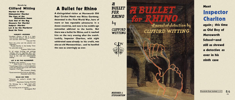 Bullet for Rhino, A. Clifford Witting