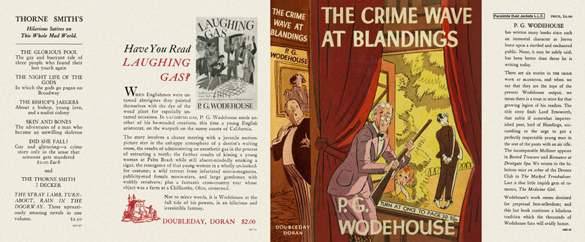 Crime Wave at Blandings, The. P. G. Wodehouse.