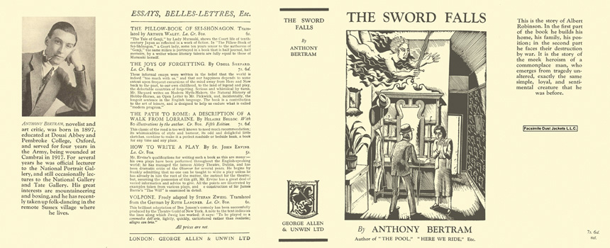 Sword Falls, The. Anthony Bertram