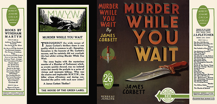 Murder While You Wait. James Corbett