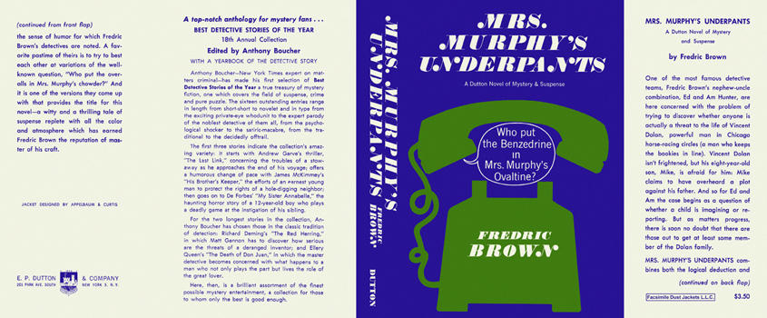 Mrs. Murphy's Underpants. Fredric Brown.