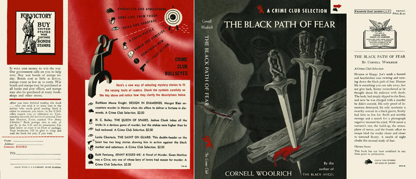 Black Path of Fear, The. Cornell Woolrich