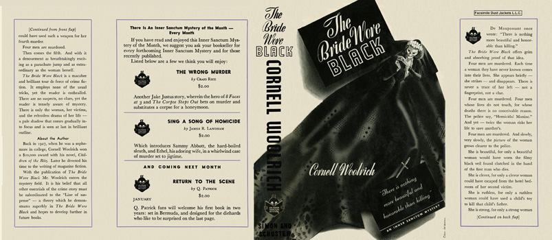 Bride Wore Black, The. Cornell Woolrich
