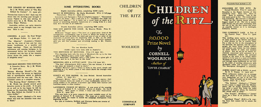Children of the Ritz. Cornell Woolrich