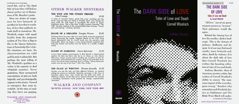 Dark Side of Love, The. Cornell Woolrich