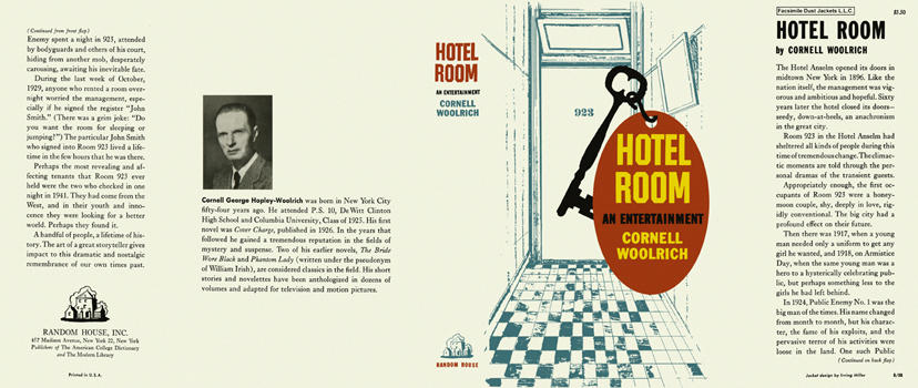 Hotel Room. Cornell Woolrich