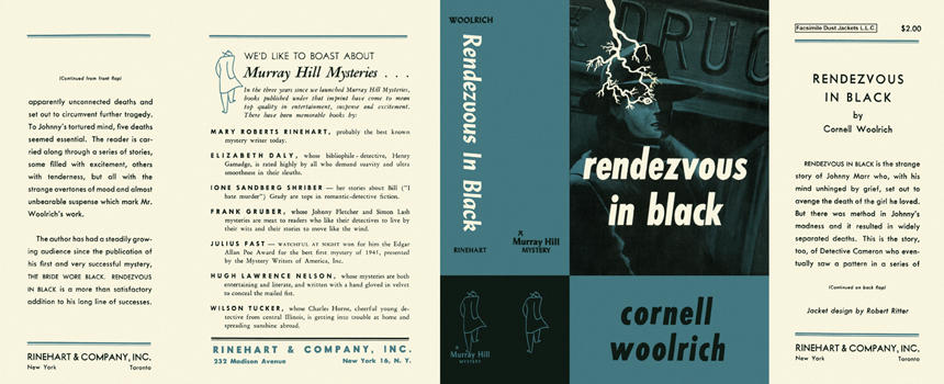Rendezvous in Black. Cornell Woolrich