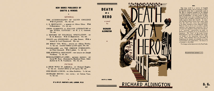 Death of a Hero. Richard Aldington.