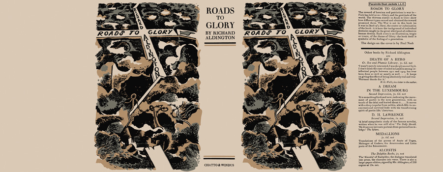 Roads to Glory. Richard Aldington.