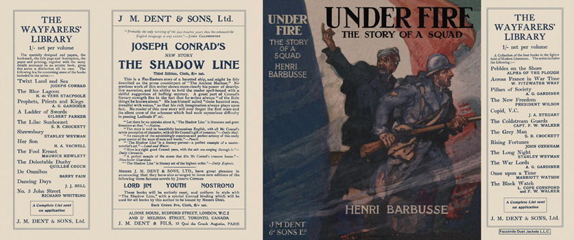 Under Fire, The Story of a Squad. Henri Barbusse