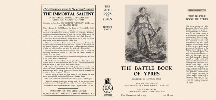 Battle Book of Ypres, The. Beatrix Brice
